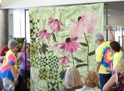 Unveiling of 2020 Opportunity Quilt